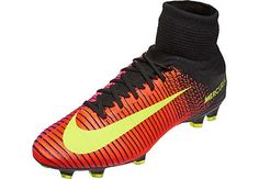 What could be a better soccer gift than the primary colorway of the Nike Mercurial Superfly V?  Buy it now from SoccerPro.