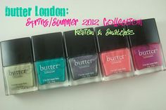 butter London: Spring/Summer 2012 Collection