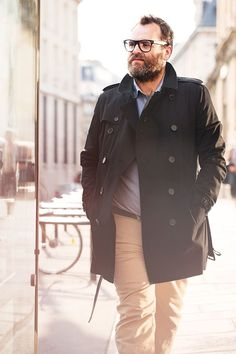 Your shirt and waist size shouldn& prevent you from displaying your own look and style. Take a look at our collection of large men& fashion for inspiration. Large Men Fashion, Look Fashion, Mens Fashion, Fashion Styles, Guy Fashion, Winter Fashion, Classic Fashion, Fashion Vintage, Fashion Tips