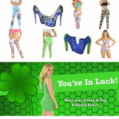 HAPPY ST. PATRICKS DAY  20% OFF EVERYTHING GREEN✅ From MARCH 1⃣ - 1⃣7⃣ At Midnight ---- www.iDealyYours.com #iDealyYours #SexybackBoutique #Monday #mondays #MondayMorning #MondayNight #mondayfunday #MondayNights #HappyStPatricksDay #StPatricksDay #StPatrickDay #StPaddysDay #StPattysDay #Guiness #beer #greenbeer #party #drink #leprechaun #clover #green #GreenDay #Irish #sale #sales #salesalesale ---- CHECK US OUT AT iDealyYours.com -
