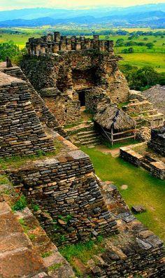 Las Ruinas Mayas de Tonina en Chiapas, Mexico