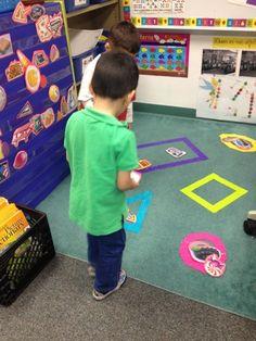 Shape Sorting- Mrs. Cardenas' Bilingual Prek Classroom