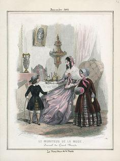 Le Moniteur de la Mode December 1846 LAPL