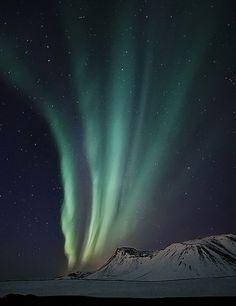 Aurora boreale, northernlights. Visibile nei giorni di sereno, dura pochissimo, è quindi difficile riuscire a vederla, bisogna appostarsi tutta la notte!!