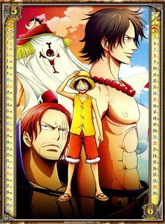 ONE PIECE / 2014 CALENDAR #onepiece #calendar #anime