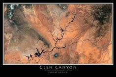 map of glen canyon - Google Search