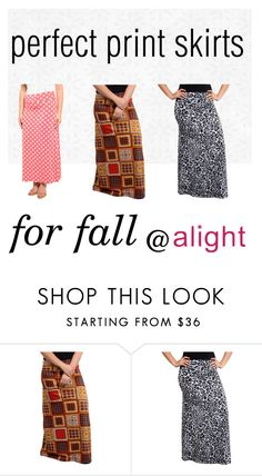 """""""plus size maxi skirts for fall"""" by alight-com on Polyvore"""