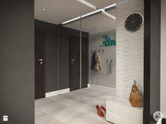 Oszklona szafa - Hol / Przedpokój styl Skandynawski - zdjęcie od A1Studio - Hol / Przedpokój - Styl Skandynawski - A1Studio