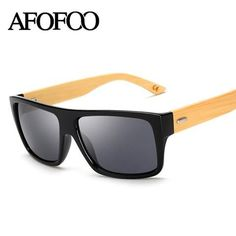 14931573c99 AFOFOO New Fashion Bamboo Sunglasses Men Sun glasses Brand Designer Women  Mirror Original Eyewear Oculos de sol Masculino - Vietees Shop Online