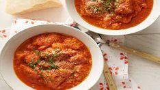 Tuscan Tomato and Bread Soup - Pappa al Pomodoro Recipe : Anne Burrell : Food Network Soup Recipes, Cooking Recipes, Healthy Recipes, Yummy Recipes, Healthy Soup, Cooking Ideas, Veggie Recipes, Healthy Eats, Dinner Recipes