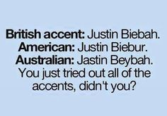 Yes XD Justin Beybah  funny