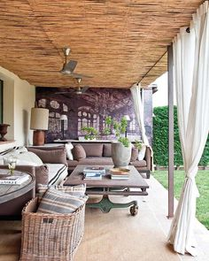 dreamy outdoor living space