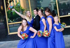 groom & bridesmaids  Wedding at Arlington Heights United Methodist and The Fort Worth Club