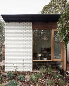 Gallery of Brunswick House by Architects. 🌿 Located in Victoria, Australia. Australian Architecture, Modern Architecture, Brunswick House, Desk Lamp, Brick, New Homes, Outdoor Decor, Instagram, Victoria Australia