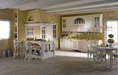Cucine in muratura rustiche e moderne | Country cottage living ...