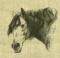 Horse/animal Counted Cross Stitch Pattern