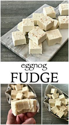 The Freakishly Good Fudge Recipes! Easy Fudge Recipes Perfect for the Holidays. Everything from Eggnog, Peanut Butter, Gingerbread, Chocolate and More! Best Fudge Recipe, Fudge Recipes, Candy Recipes, Sweet Recipes, Holiday Recipes, Christmas Recipes, Yummy Recipes, Cream Cheese Fudge Recipe, Fudge Flavors