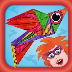 Juf Jannie - origami voor kinderen app
