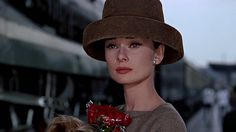 Audrey Hepburn  - 50's Glamour Hats - She could have worn a 5 gallon bucket on her head and it would still have looked chic.