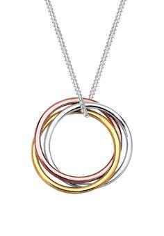 Elli Ladies 'Necklace with Circle Pendant-0110672814