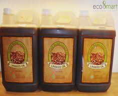 Minyak alami yang digunakan dalam finishing, yang diekstraksi dari flaxseed atau biji flax (sejenis wijen). Ketika digunakan, linseed oil akan mengalami polimerisasi dalam bentuk solid, mudah mengering, dan mengurangi goresan dibandingkan cat pernis (varnish). Lapisan akhir (coating) linseed oil menghasilkan kilap dan menonjolkan keaslian tekstur kayu. Biasanya linseed oil digunakan pada perahu dan juga seringkali untuk melapisi papan surf agar tahan air