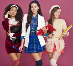 Aaahhhhh!!! clueless!!! Campus Clique DIY Halloween costumes by #AmericanApparel.  #costumes #Halloween