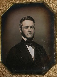 1840's Daguerreotype of Gentleman by snap-happy1, via Flickr