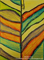 Adventures of an Art Teacher: Leaf Abstractions
