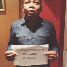Presley gave us his #popwatchconfession and we love it.