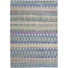 Safavieh Valenica Purple/ Multi Polyester Rug (4' x 6')