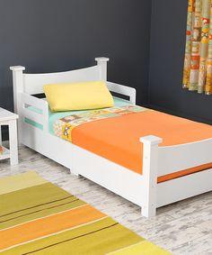 White Addison Toddler Bed Zulilyfinds