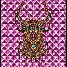 Such a beetle jeweler turned out for me  #hannakarlzon #hannakarlzondagdrömmar #dagdrömmar #daydreamscolouring #dagdrommar #antistress #antistresscoloringbook #antistresscoloring #arttherapycoloringbook #coloring #coloringbook #pencil #bayan_boyan #coloringbookforadults #colorindolivrostop #adultcolouring #adultcoloringbook #wonderfulcoloring #ханнакарлсон #раскраскадлявзрослых #раскраскидлявзрослых #раскраска_антистресс #раскраскаантистресс #раскраска_для_взрослых #цветныекарандаши