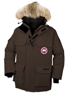 new brown parka canada goose expedition