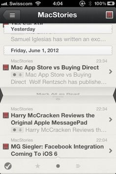 The best RSS client on iPhone gets even better – Reeder 3.0 - iPhone app review - Lisa Caplan | Appolicious ™ iPhone and iPad App Directory