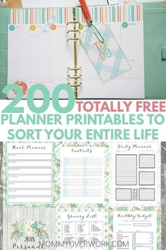 free planner printables to sort entire life atop weekly daily planner, m. totally free planner printables to sort entire life atop weekly daily planner, m.totally free planner printables to sort entire life atop weekly daily planner, m.