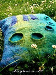 felt cushion   2013   Aukje Bor-Stokroos