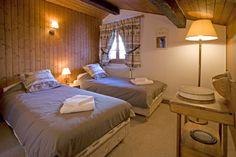 Chambre enfants du Chalet de l'hotel du Jeu de Paume Chamonix