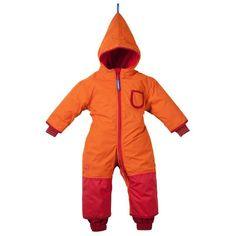 New Finkid winter overall snowsuit Zwergen- PIKKU WINTER orange/red