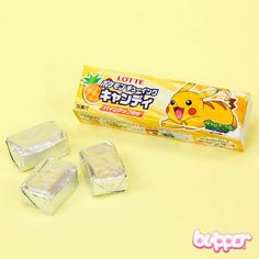 Lotte Pokemon Pineapple Chewy Candy