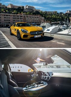 Positively arched surfaces give the Mercedes‑AMG GT S its sensuous character and the appearance of a sculpture.  Photos by Bas Fransen #MBsocialcar [Mercedes-AMG GT S   combined fuel consumption 9.6-9.4 l/100km   combined CO2 emission 224-219 g/km   http://mb4.me/efficiency_statement]