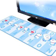 Doraemon Desk Pad Large Long Keyboard Table Mouse Pad Cushion Wrist  #FujikoProDoraemon