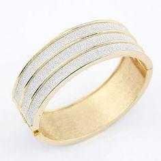 A27551 3line silver bangle