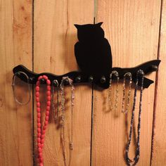 Hey, I found this really awesome Etsy listing at https://www.etsy.com/listing/157157313/owl-jewelry-holder-necklace-rack-in