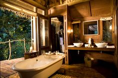 Lake Manyara Tree Lodge, Safari de luxe en Tanzanie