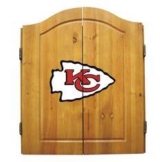 Kansas City Chiefs NFL Dart Cabinet - Sports Fans Plus