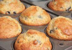 Recette Muffins aux bleuets - Coup de Pouce - weight watchers