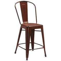 "$63.23 for red. Flash Furniture 24"" Bar Stool & Reviews | Wayfair"