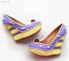 Wearable Confections From Shoe Bakery Will Give You A Sugar High. | http://www.ifitshipitshere.com/wearable-confections-shoe-bakery-will-give-sugar-high/