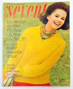 August 1961 cover with Susan Van Wyck