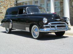 1950 Chevy Sedan Delivery.